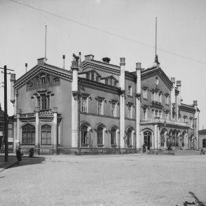 helsingfors järnvägsstation 1907
