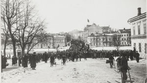 Frihetsdagen firas i Åbo 29.3.1917