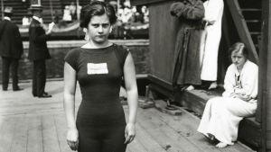 Uimahyppääjä Greta Johansson voitti olympiakultaa vuonna 1912, ensimmäisenä ruotsalaisena.