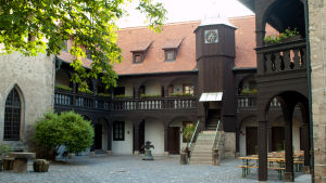 Augustinerklostret i erfurt där Luther levde som munk 1505 -1512