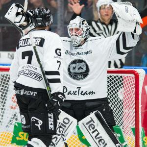 Rasmus Tirronen och Henrik Tallinder, 2017.