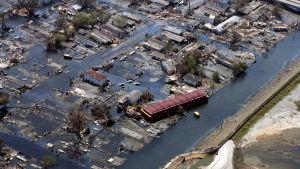Tio år sedan orkanen Katrina nådde New Orleans.