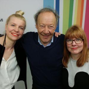 Anna Tulusto, Gugi Kokljuschkin ja Susanna Vainiola Levylautakunnassa