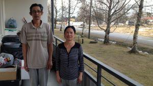 Doot Doot och Goung Dum kom till Kronoby från Burma år 2010.