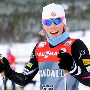 Kikkan Randall för idrottarnas talan inom FIS.