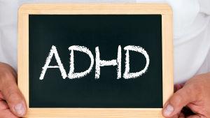 Skylt med ADHD