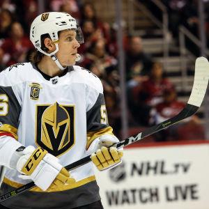 Erik Haula i Vegas tröja.