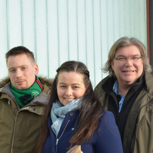 Lukas Brenner, Cecilia Alameri och Mikael Lindfelt
