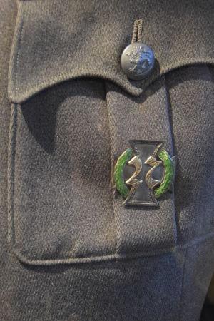 Den 27nde jägarbataljons tecken