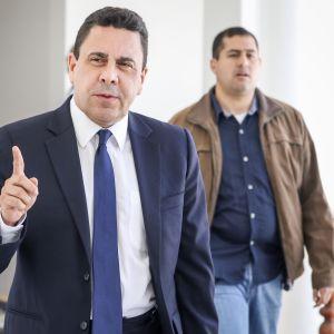 Samuel Moncada är Venezuelas utrikesminister.