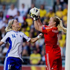 Sanna Talonen, fotbolls-EM 2013.