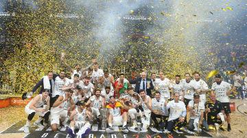 Real Madrid vann Euroleague i herrbasket 2018.