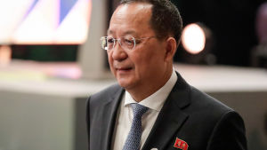 Nordkoreas utrikesminister Ri Yong-ho.