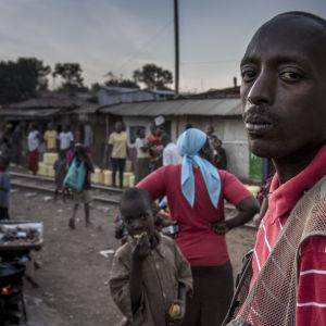 Boy Dallas Kiberan slummissa