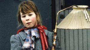 Juulia Salonen Tiinan roolissa 1991.
