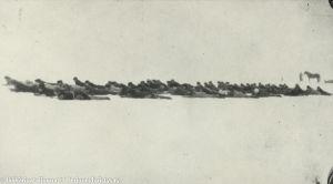Sotilaskoulutusta jäällä (1918)