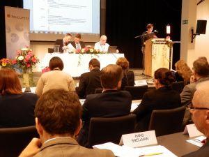 Folktingets session i Borgå den 8 maj 2015.