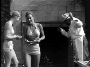 Grillijuhlat uima-altaalla USA:ssa (1947).