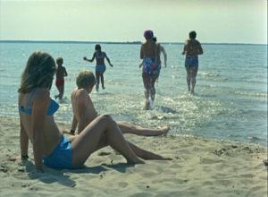 Yyterin hiekkaranta 1973.