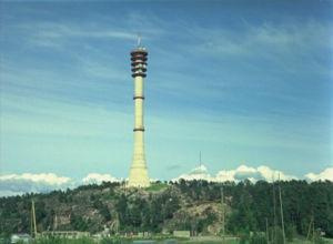 Pääskyvuoren linkkitorni 1973.