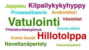 Juha Sipilän hallituksen käyttämiä uudissanoja.