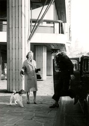 Ote elokuvasta Tähdet kertovat, komisario Palmu (1962).
