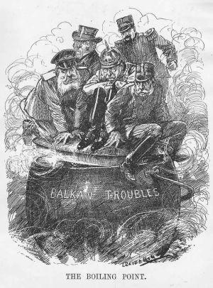 """Balkan kallades för Europas """"krutdurk"""" under första världskriget."""