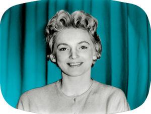 Teija Sopanen på 1950-talet.