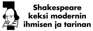 """Teksti, jossa lukee """"Shakespeare keksi modernin ihmisen ja tarinan."""""""