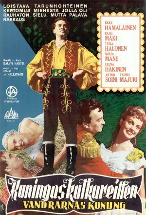 Kuningas kulkureitten -elokuvan alkuperäinen juliste (1958).