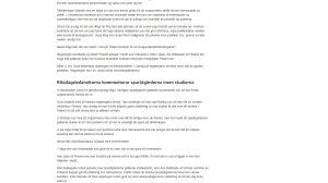 En skärmdump av en webbnyhet som är texttung och inte innehåller mycket grafiska element.
