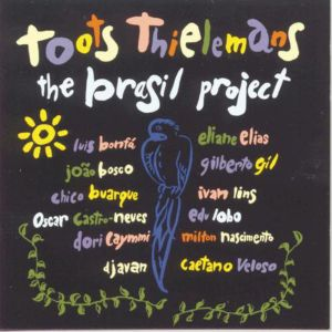Omslaget till Toots Thielemans skiva The Brasil Project