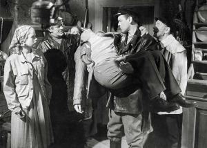 Ote elokuvasta Saariston tyttö (1953).