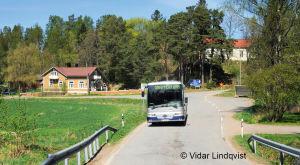Korsningen till Karis och Ekenäs i Snappertuna. OBS! Får användas endast i artiklar som berör fotograf Vidar Lindqvist.