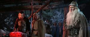 Urho Somersalmi Väinämöisenä elokuvassa Sampo (1959)
