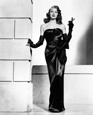 Rita Hayworth elokuvassa Gilda