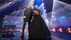 Uuden Musiikin Kilpailun 2017 voittaja Norma John.