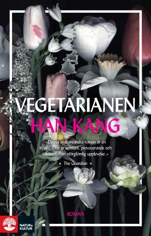 "Pärmbild till Han Kangs roman ""Vegetarianen""."