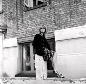 Nico, rockyhtye Velvet Undergroundin laulaja 17.8.1965.