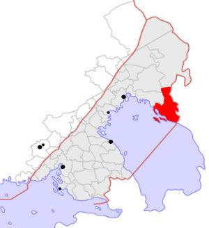Kartta Laatokan Karjalasta