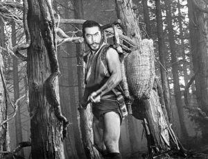 Toshiro Mifune elokuvassa Kätketty linnake