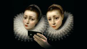 Kaksi sisarta, Cornelis de Vos,