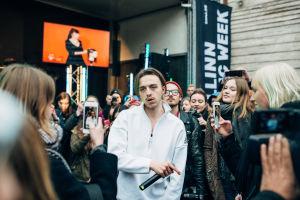 Tommy Cash yllätyskeikalla Tallinn Music Weekillä.