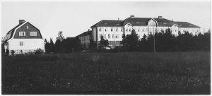 Kuppis sjukhus i Åbo på 1910-talet.