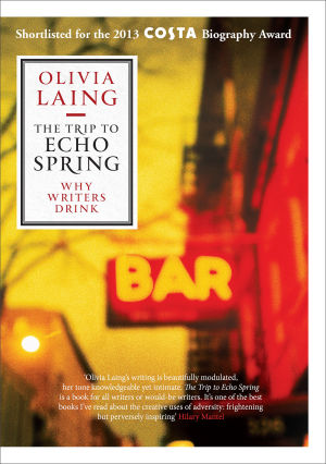 "Pärmbilden till Olivia Laings bok ""The trip to Echo Spring""."
