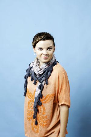 Kuvassa Vilma Haavisto (Rosa Hautala)