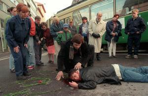 Inspelning av Vägsjälar, 1998
