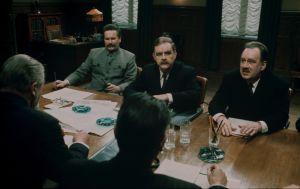 Mikko Niskanen (Stalin), Risto Mäkelä (Molotov) ja Pentti Kulmala (Potemkin)