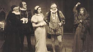 en bild ur pjäsen Daniel Hjort