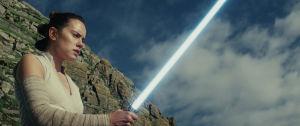 Oppiiko Rey jedisoturin taidot?